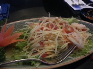 Thai Salad at RENN Thai