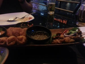 Platter at RENN Thai